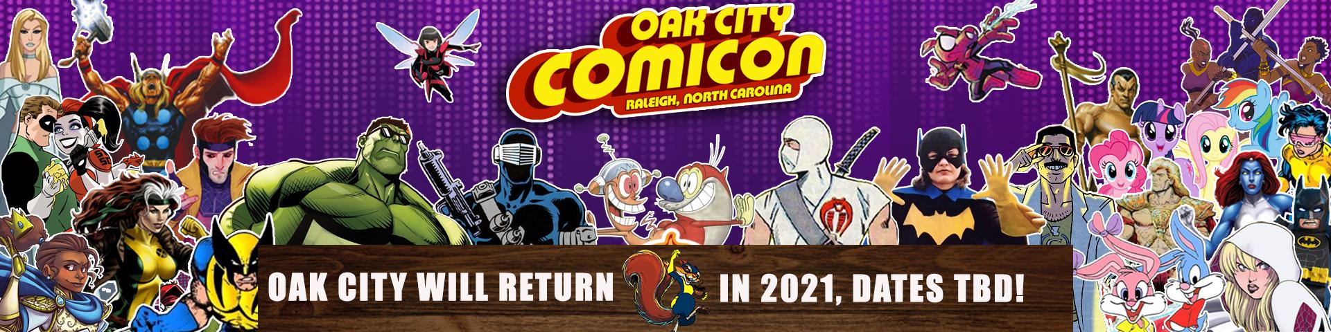 OAK CITY COMICON